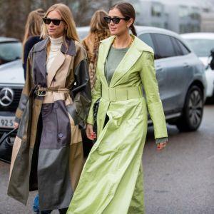 Kolorowe płaszcze na wiosnę 2020