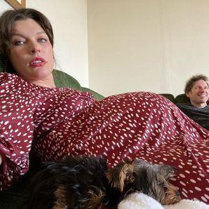 Milla Jovovich w trzeciej ciąży