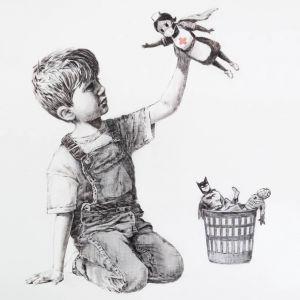 Nowa praca Banksy'ego to hołd pracownikom medycznym