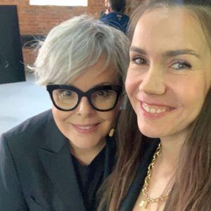 Karolina Korwin-Piotrowska i Olga Bołądź