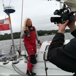 Joanna Pajkowska kończy rejs non-stop dookoła świata