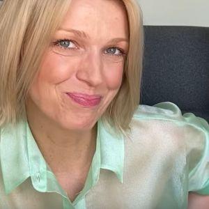 Magda Mołek w bluzce Reserved