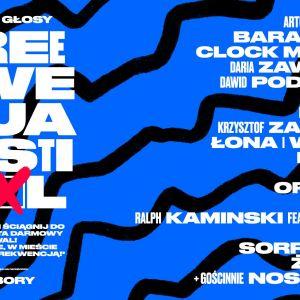 Plakat Festiwalu Freekwencja