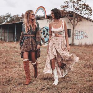 Moda w stylu boho - modne kowbojki