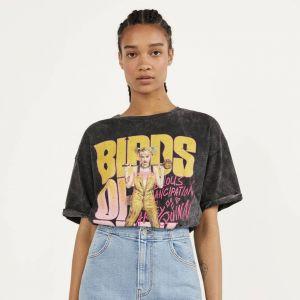Jeansowa spódnica mini Bershka