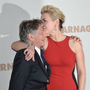 """Kate Winslet i Roman Polański na premierze filmu """"Rzeź"""""""