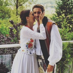 Paulina Krupińska i niebanalna suknia ślubna