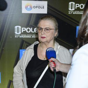 """Stanisława Celińska z piosenką """"Niech minie złość"""" zdobywa nagrodę publiczności w Opolu"""