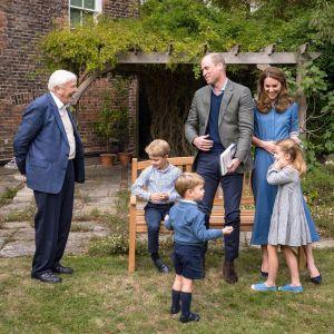 Książę Louis na Instagramie sir Davida Attenborougha