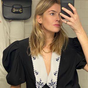 Najmodniejszy trend sezonu na Instagramie - bluzka z kołnierzykiem w stylu vintage a'la księżna Diana