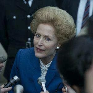 4. sezon The Crown - Gillian Anderson w roli Margaret Thatcher