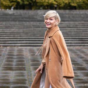 Moda na jesień 2020: stylizacje Małgorzaty Kożuchowskiej