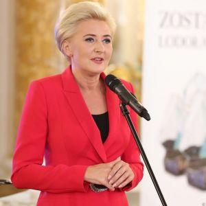 Czy Agata Duda poparła Strajk Kobiet?