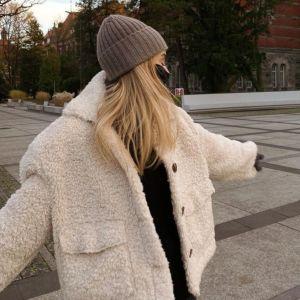 Zimowe stylizacje. Kasia Tusk w kurtce typu MIŚ