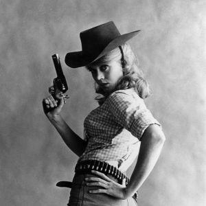 "Jane Fonda w filmie ""Cat Ballou""- 1964"