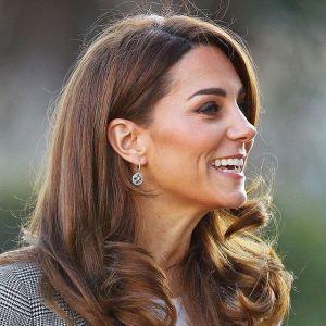 Kate Middleton i jej glowing bronze