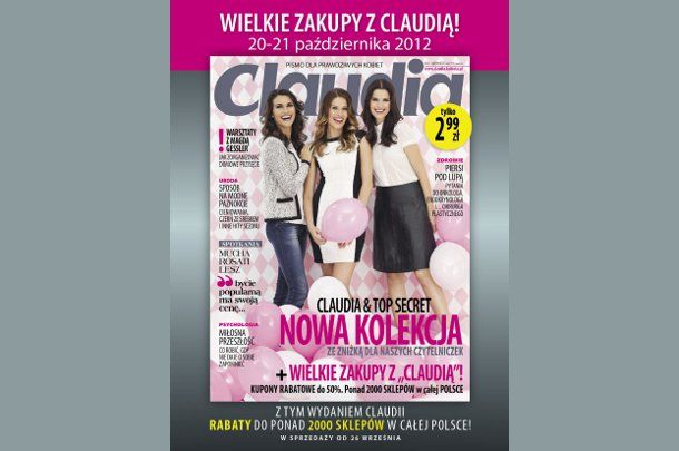 978052bc63 CLAUDIA. Kupony zniżkowe - lista sklepów - Kobieta.pl