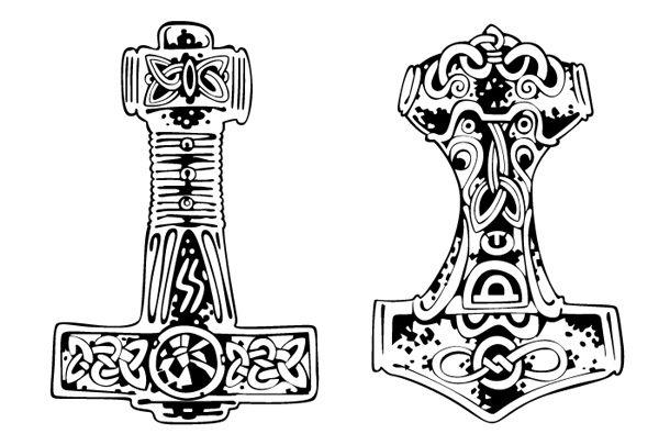 Magiczne Symbole Młot Thora Kobietapl