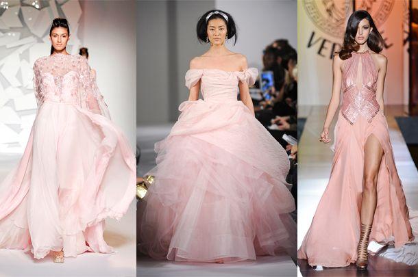 7ccec02a72 1 b47e28 610405. Zobacz galerię. Różowe suknie ślubne ...