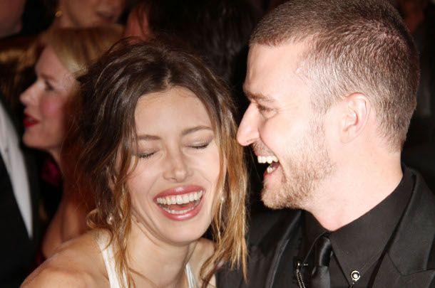 Justin Timberlake Jessica Biel Jeden ślub Cztery