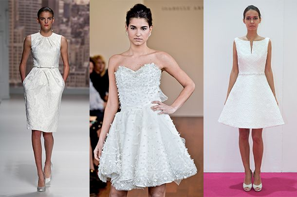 9ec603cbd1 610405. Zobacz galerię. Krótkie suknie ślubne ...