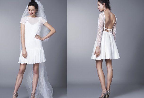 a5f15dc4c3 Trend 2016 - krótkie suknie ślubne - Kobieta.pl