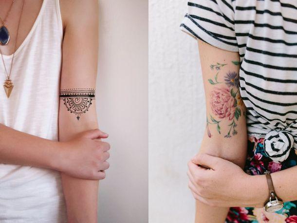 Letnie Tatuaże Galeria Kobietapl