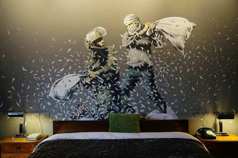 Banksy hotel w Betlejem