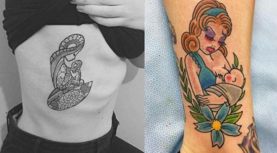 Karmienie Piersią W Formie Tatuażu Kobietapl