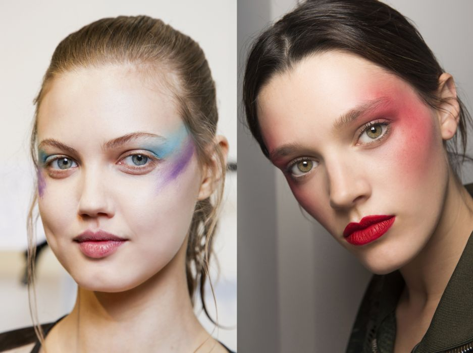Trend Uroda Wiosna Lato 2017 Lata 80 W Makijażu Kobietapl