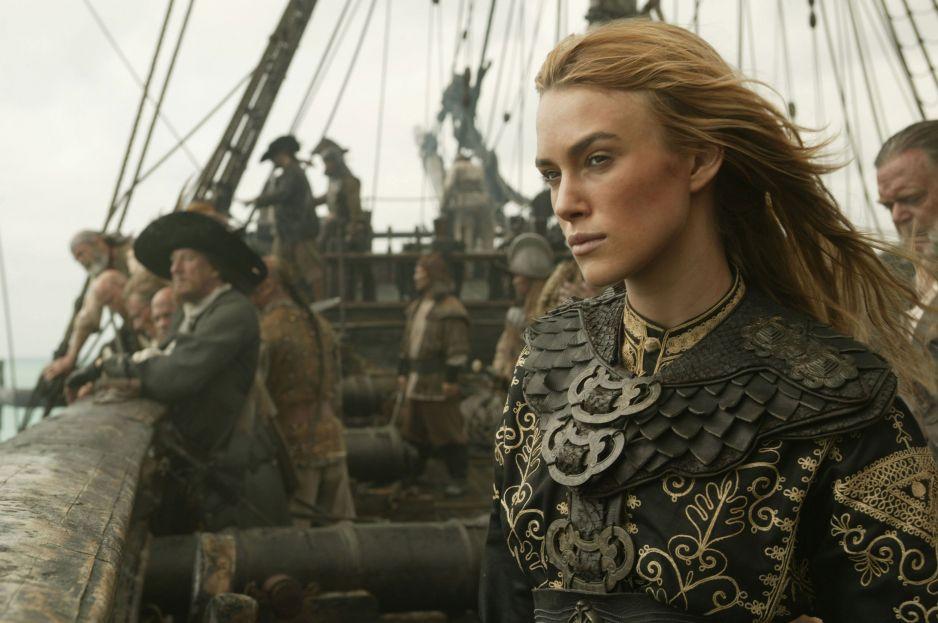 """Keira Knightley w piątej części """"Piraci z Karaibów. Zemsta Salzara"""""""