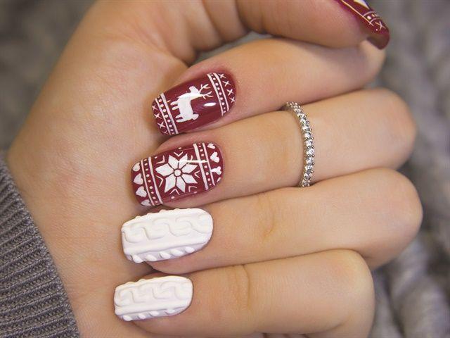 świąteczny Sweterek Na Paznokciach Czy To Jeszcze Modne Kobietapl