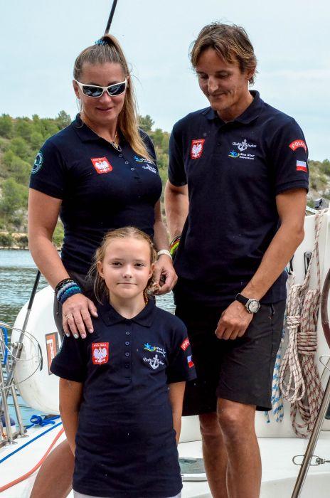 Rodzinne życie na fali: Edyta Kos-Jakubczak i Adam Jakubczak o życiu na morzu
