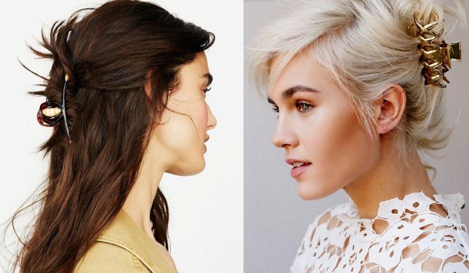 Klamra Do Włosów Fryzury Z Klamrą Do Włosów Wielki Powrót