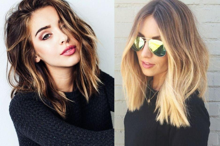 Włosy Do Ramion 2018 Najmodniejsze Fryzury Włosy Do Ramion