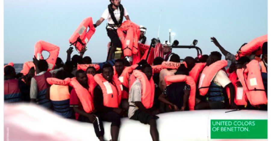 Benetton reklama z uchodźcami