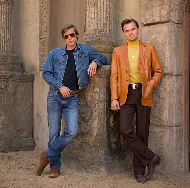 Brad Pitt i Leonardo Di Caprio w filmie Once Upon A Time In Hollywood