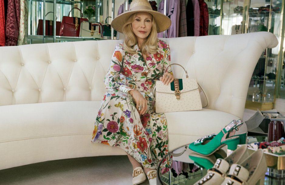 7a53b030ae08 Faye Dunaway modelka po 70.tce twarzą Gucci - Kobieta.pl