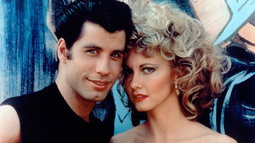 Olivia Newton John i John Travolta, Grease