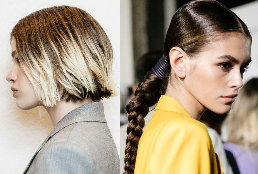 Modne Fryzury 2019 15 Trendów Dla Krótkich I Długich Włosów