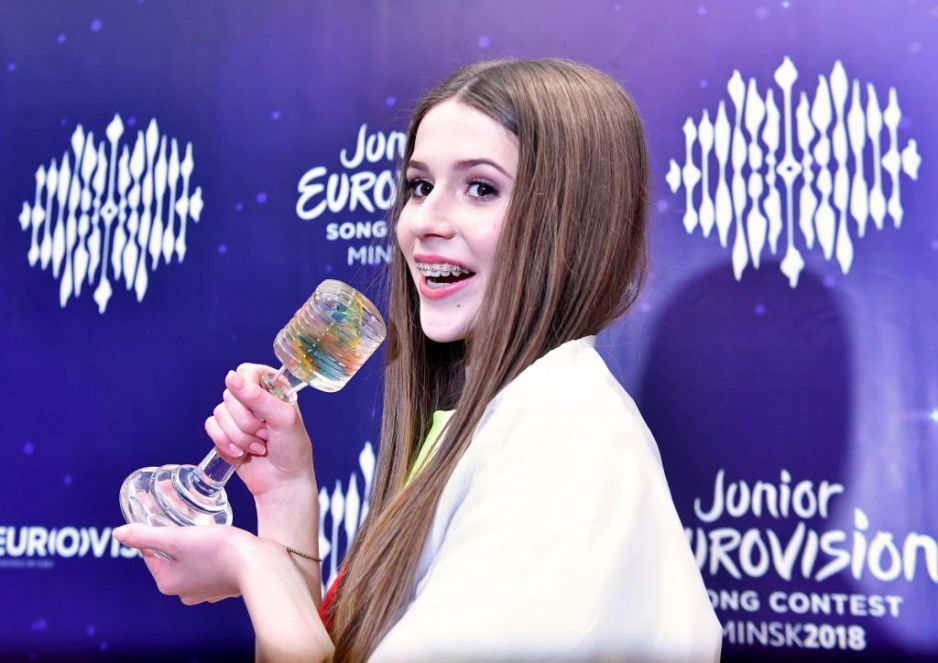 Eurovision Song Contest 2019 - NETHERLANDS WINS !!! Roksana-wegiel-eurowizja-junior-2018_3