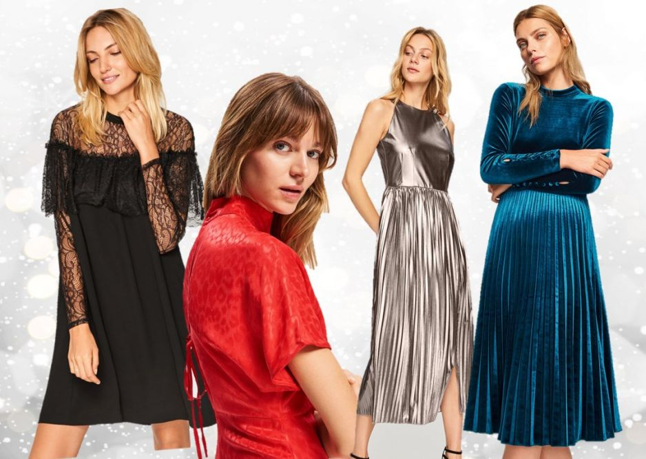 8555ceb02a Sukienki Reserved święta 2018  najmodniejsze sukienki na święta ...