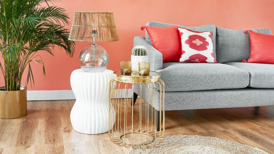 Trendy we wnętrzach 2019: Living Coral