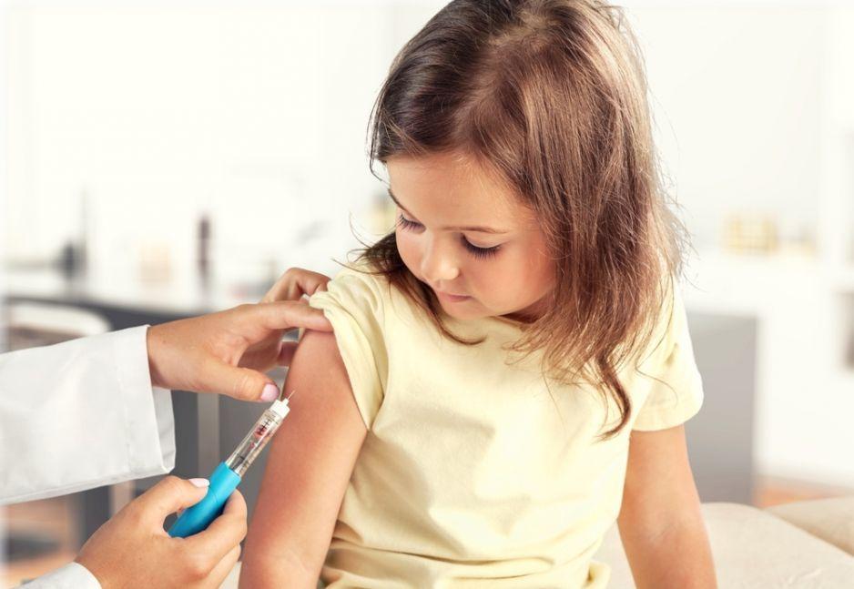 Szczepione dzieci