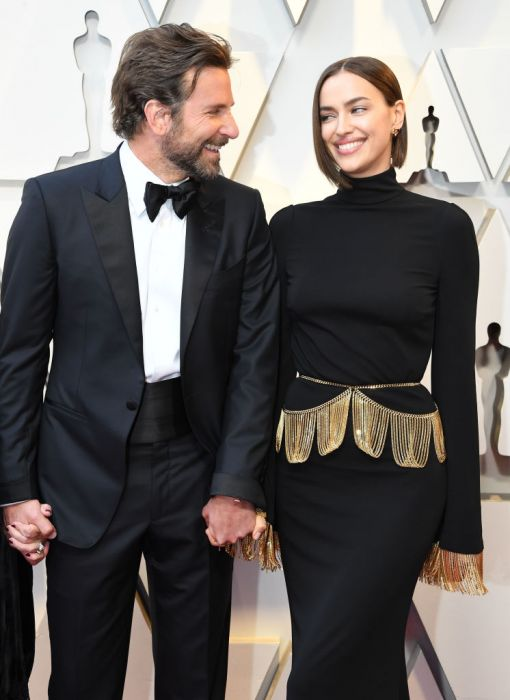 Bradley Cooper z Iriną Shayk