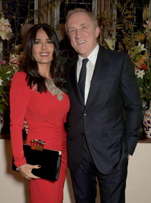 Francois-Henri Pinault z żoną Salmą Hayek