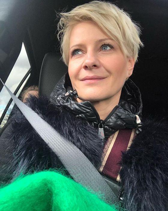 Małgorzata Kożuchowska Zmieniła Fryzurę Aktorka Przeszła