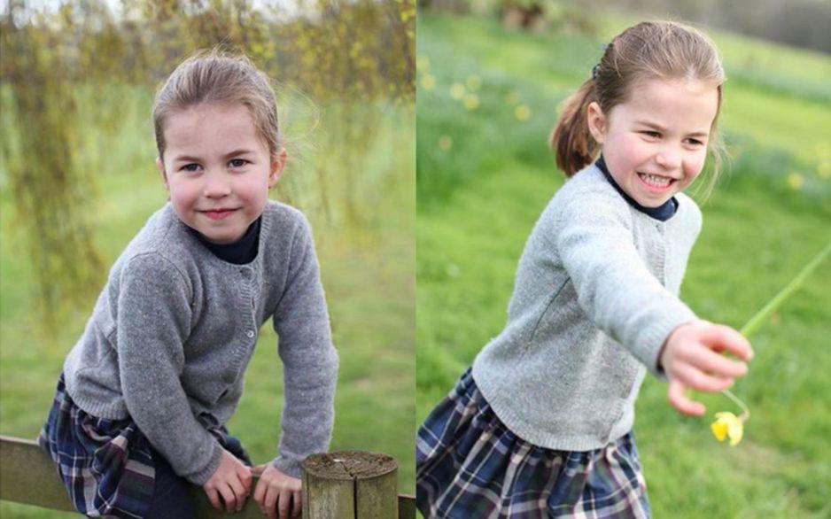 Księżniczka Charlotte kończy 4 lata! Jej nowe zdjęcia są urocze