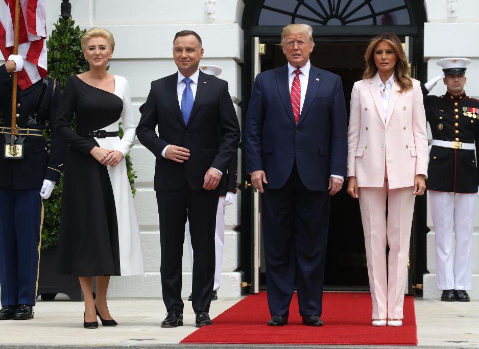 Agata Duda i Melania Trump: pojedynek pierwszych dam