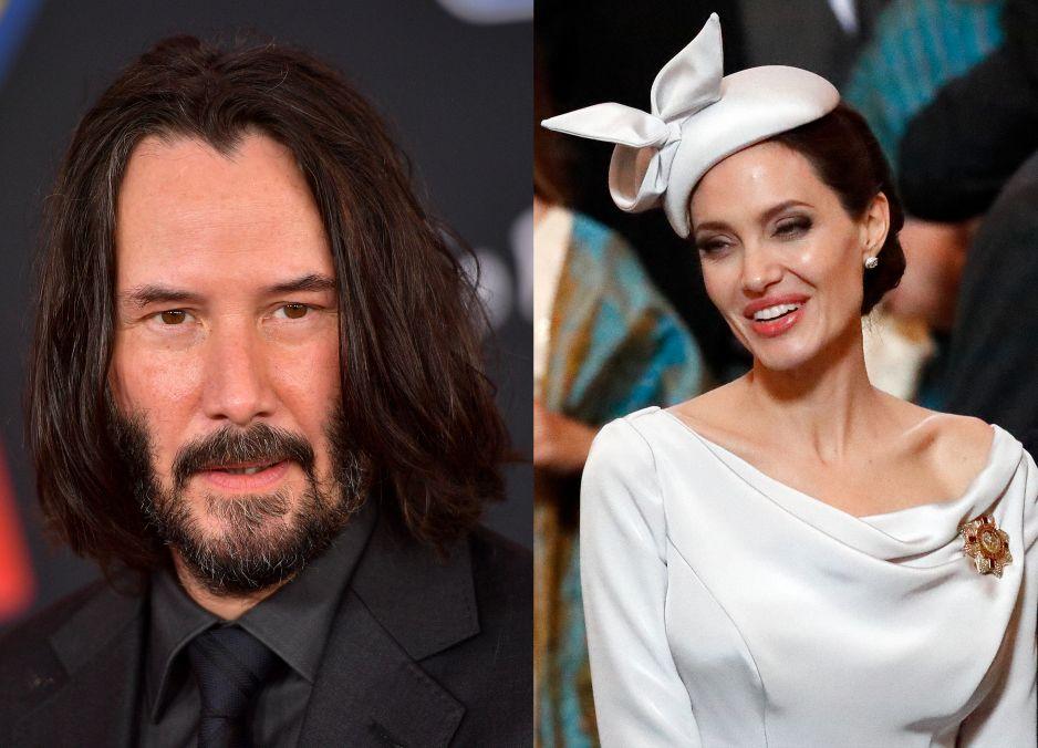 Angelina Jolie i Keanu Reeves mają romans?